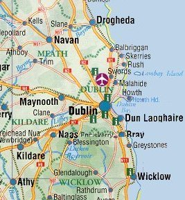 Map Of Ireland Near Dublin.Ireland Maps Free And Dublin Cork Galway